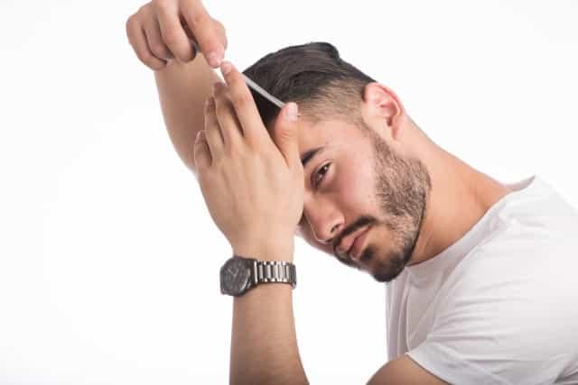 整髪料 使い方