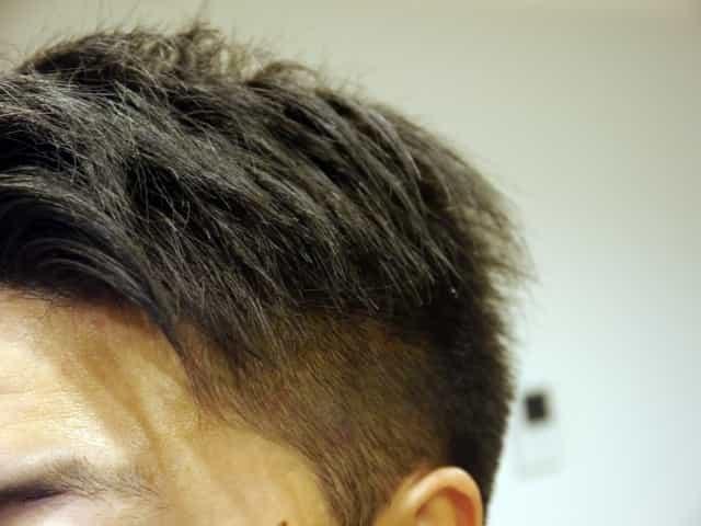 薄毛 髪型 ツーブロック