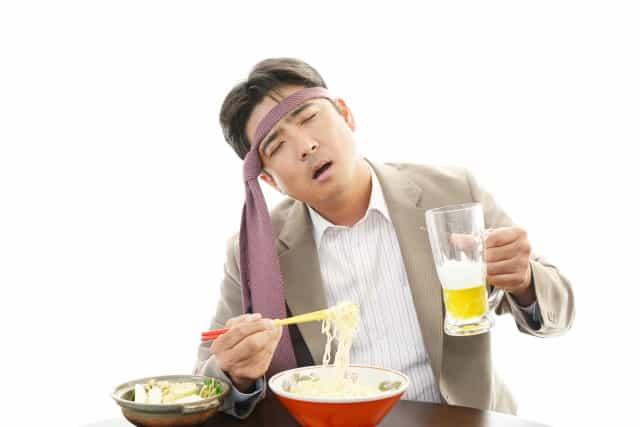 悪い食べ方を改善しよう 暴飲暴食